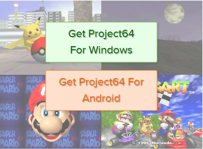 Project64 a Nintendo Emulator