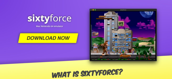 Sixtyforce a Nintendo emulator for macOS