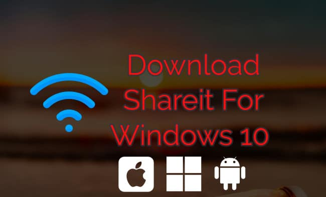 shareit for window 10 pc